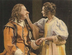 Bill Christ en Cyrano et Libby West en Roxane  © Terry Shapiro
